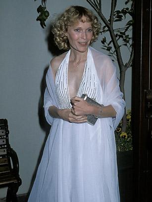 Mia Farrow agli Oscar 1979 - foto Ron Galella per Wireimage da Time