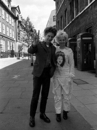 Vivienne westwood e Malcolm Mclaren
