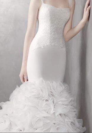 Abito da sposa Primavera 2012 White Vera Wang