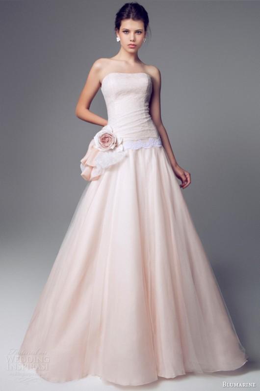 Abito da sposa rosa Blumarine-2014