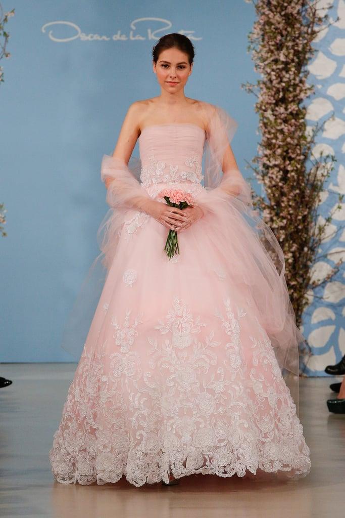 Abito da sposa rosa Oscar-de-la-Renta-Sposa-Spring-2014