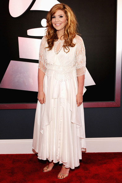 Alison Krauss ai Grammy 2012 -Foto Getty