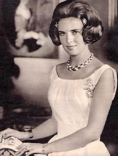 la Principessa Anna Maria di Danimarca