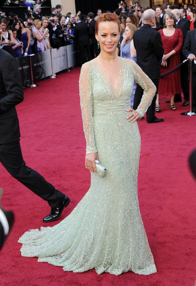 Bérénice Bejo agli Oscar 2012 - Foto Getty