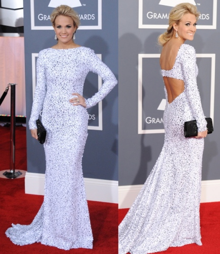 Carrie Underwood ai Grammy 2012