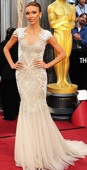 Giuliana Rancic in Tony Ward foto Getty
