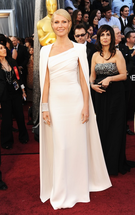 Gwyneth Paltrow in Tom Ford Oscar 2012 - Foto Getty