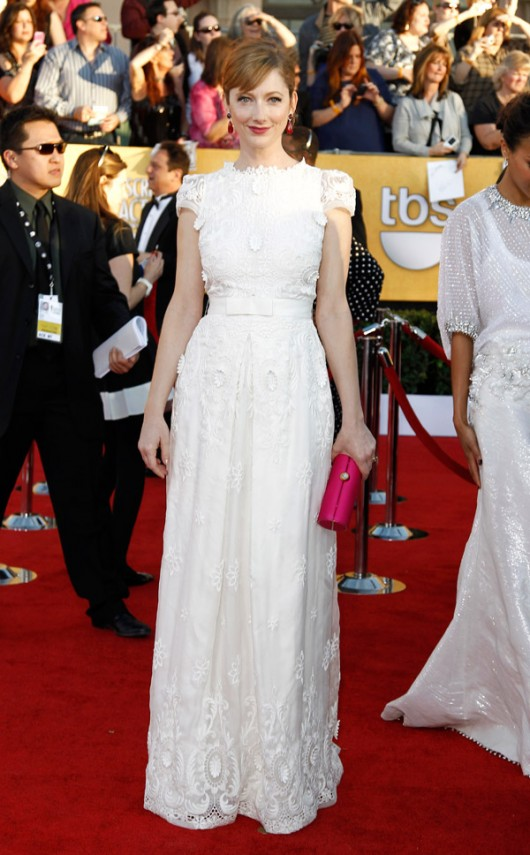 Judy Greer in Collette Dinnigan ai SAG Awards 2012