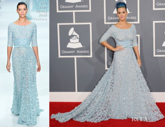 Katy Perry ai Grammy 2012 - foto da redcarpet-fashionawards