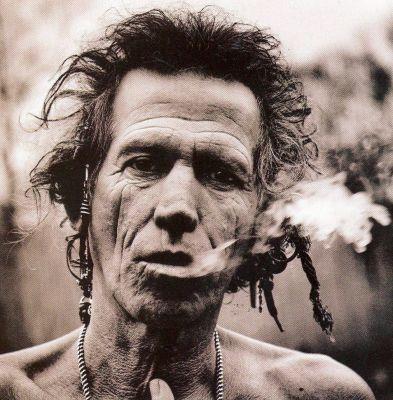 Keith Richards fotografato da Annie Leibovitz