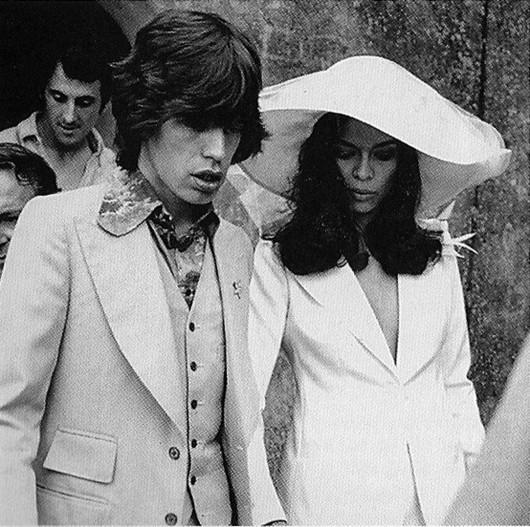 Nozze Keith e Bianca Jagger