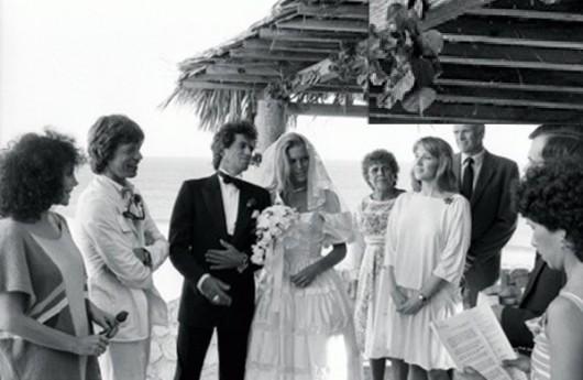Nozze Keith Richards con Patti Hansen