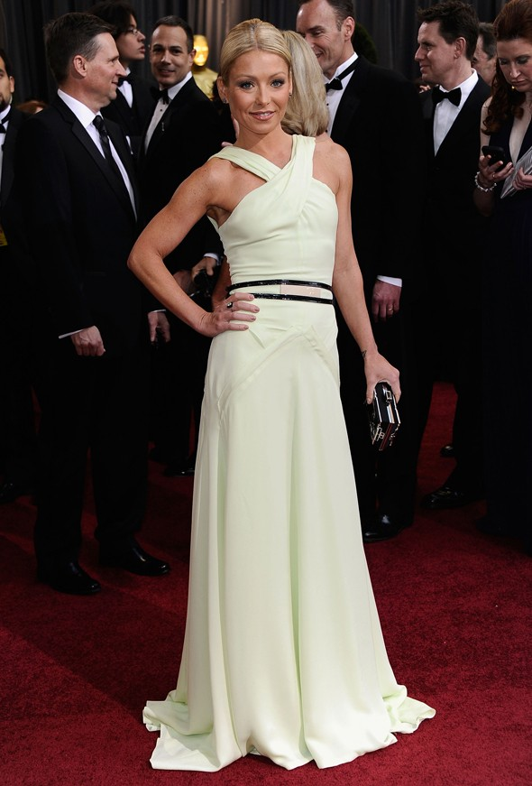 Kelly Ripa in Carolina Herrera Foto Getty