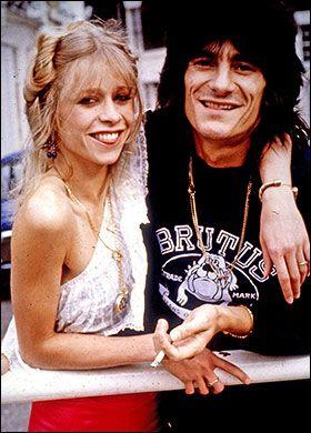 Krissy e Ronnie Wood
