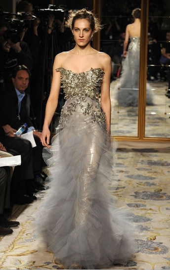 Marchesa da NYFW Fall 2012 - Foto Getty