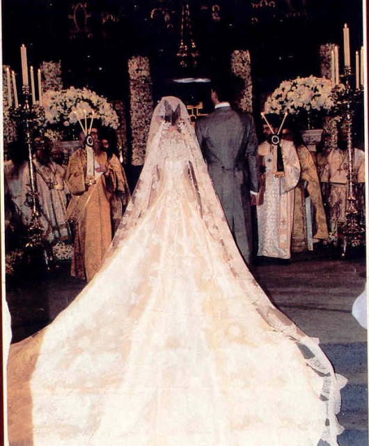 Le nozze tra Il Principe Pavlos di Grecia e Marie-Chantal Miller