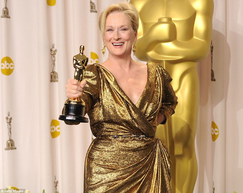 Meryl Streep vince l'Oscar 2012