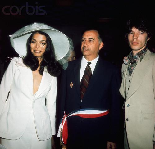 Nozze Mick e Bianca Jagger - Foto Corbis