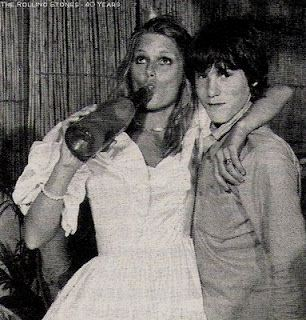 Patti Hansen festeggia le nozze con Keith Richards