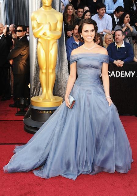 Penelope Cruz agli Oscar 2012 - Foto Getty