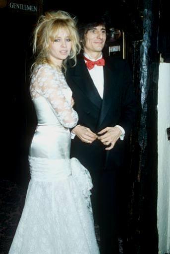 Nozze Ronnie e Jo Wood - foto da weddingmagazine.co.uk