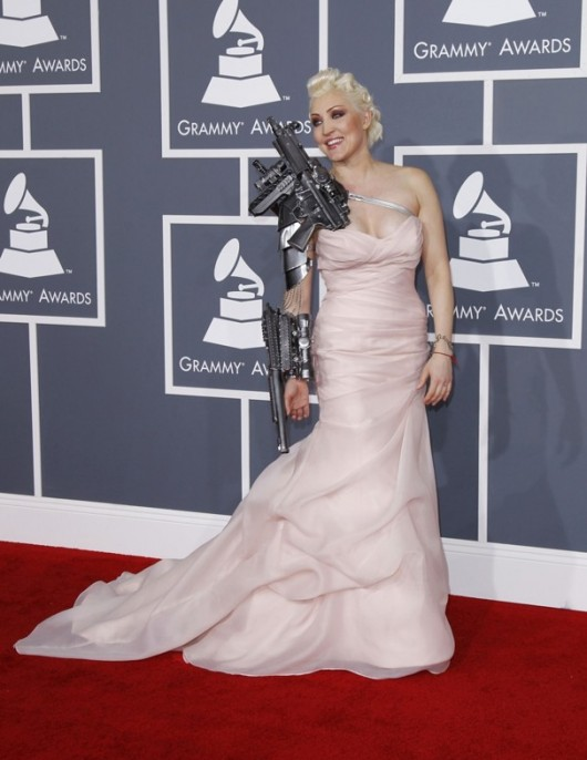 Sasha Gradiva ai Grammy 2012 - Foto da washingtonpost