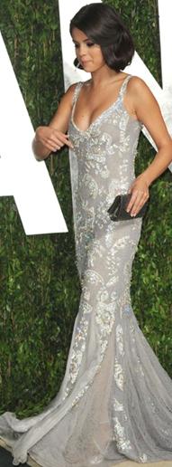 Selena Gomez Vanity Fair Oscar Party 2012 - Foto Getty