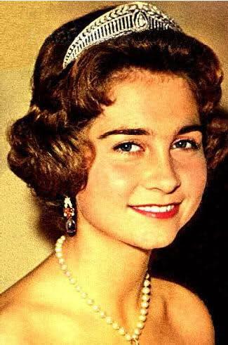 La Principessa Sofia di Grecia con corona