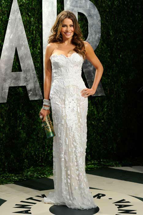 Sofia Vergara al party di Vanity Fair Oscar 2012 - Foto Getty