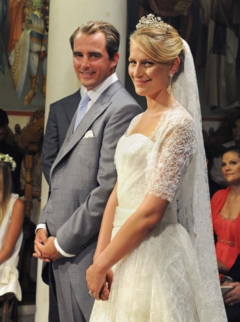 Le nozze tra il Principe Nikolaos e la principessa Tatiana di Grecia e Danimarca- Foto Rex Features