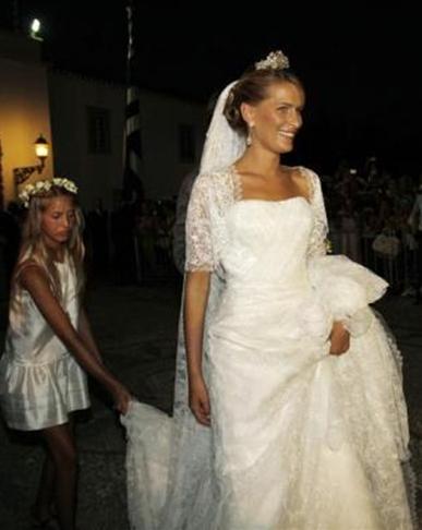 La Principessa Tatiana di Grecia e Danimarca- Foto Reuters