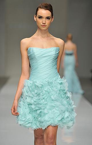 Romona Keveza Collection Evening Wear  Spring 2011