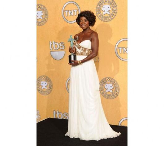 Viola Davis ai SAG Awards Foto Getty
