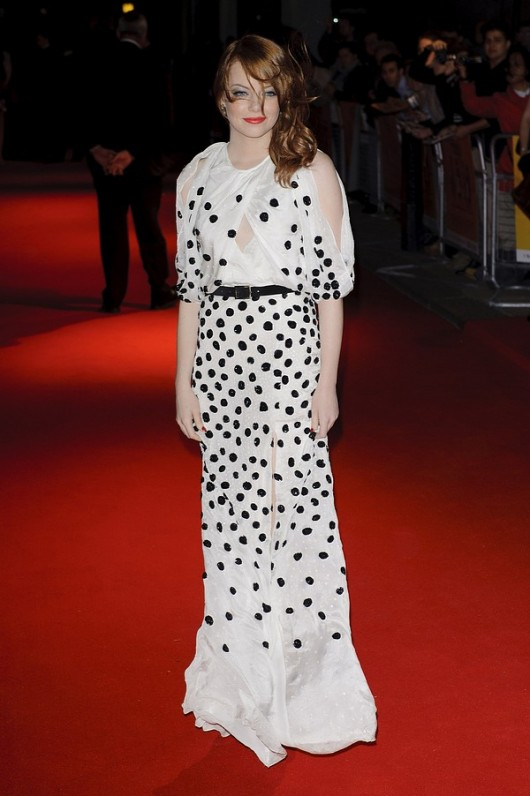 "Emma Stone ""The help"" UK premiere in London"