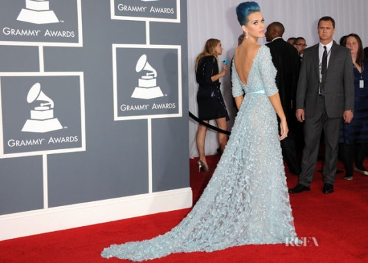 Kate Perry ai Grammy 2012 - foto by Jason Merritt/Getty Images