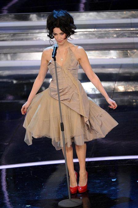 Nina Zilli in Vivienne Westwood a Sanremo