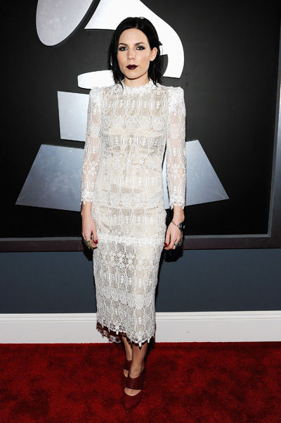 Skylar Grey ai Grammy 2012 - foto Getty