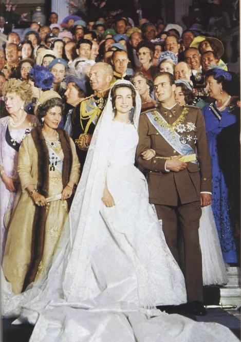 Nozze tra Juan Carlos di Spagna e la Principessa Sofia di Grecia
