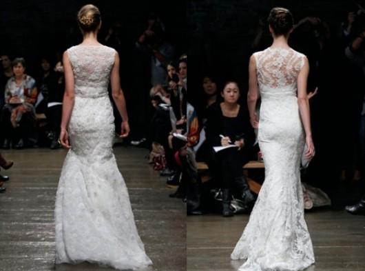 abiti da sposa Aurora e Mila Fall 2012 Monique Lhuillier