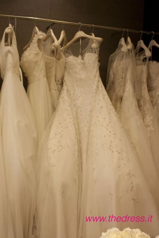 """Abito da sposa """"Disco"""" collezione 2013 Pronovias"""