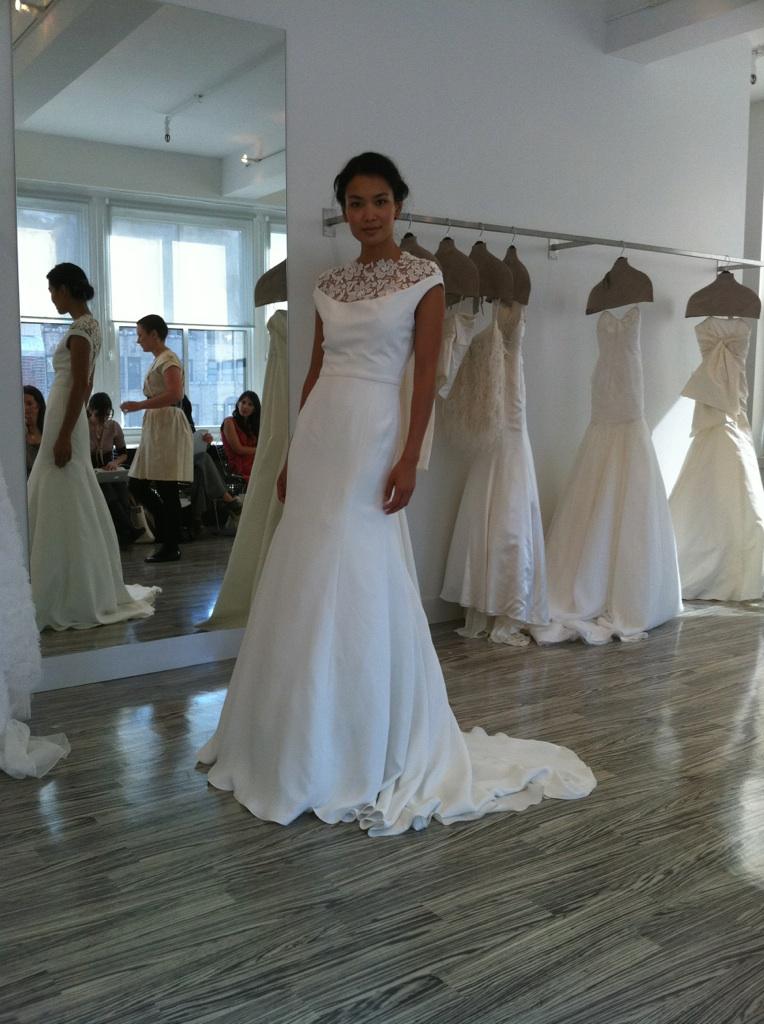 """The battery"" by Lela Rose wedding dress"