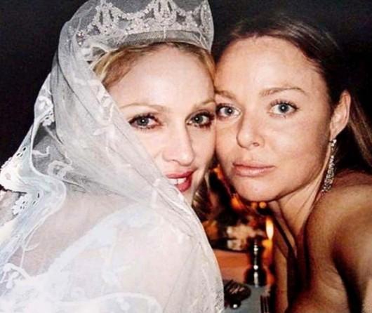 Madonna con Stella Mc Cartney