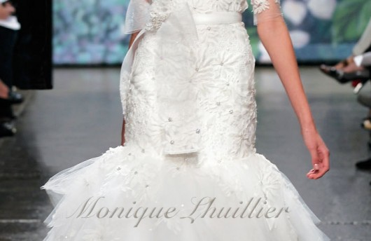 abito da sposa Moment Platinum collection Fall 2012 Monique Lhuillier