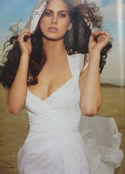abito da sposa Monique Lhuillier 2012 prezzo di 3.700 sterline