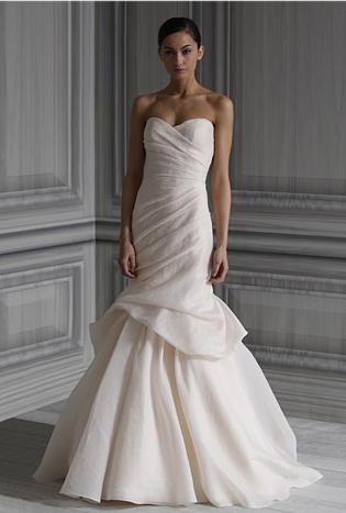 abito da sposa Peony Spring 2012 Monique Luhillier