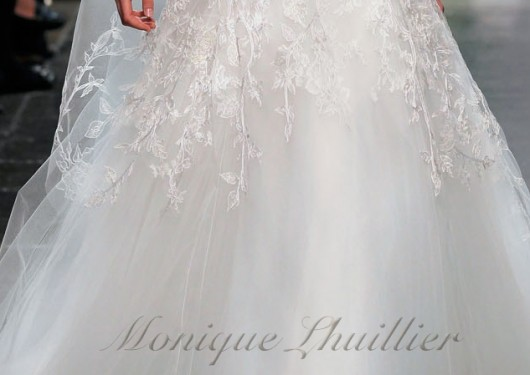 abito da sposa Sentimental Platinum collection Fall 2012 Monique Lhuillier