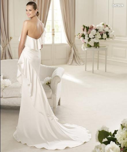 Datsun, collezione Glamour, abito da sposa Pronovias 2013