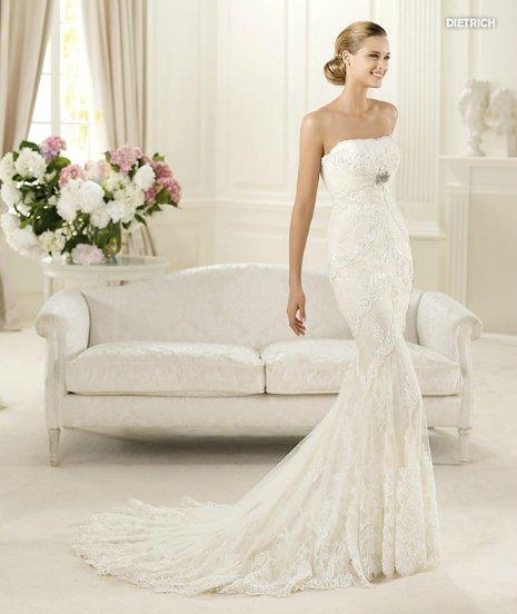 Dietrich, Fashion, abito da sposa Pronovias 2013