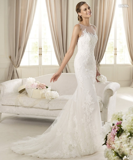 Distel coll. Fashion Abito da sposa Pronovias 2013