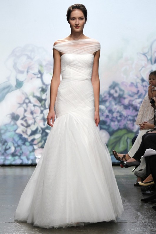 Emotion Fall 2012 abito da sposa Monique Lhuillier